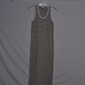 West Loop Striped Maxi Dress
